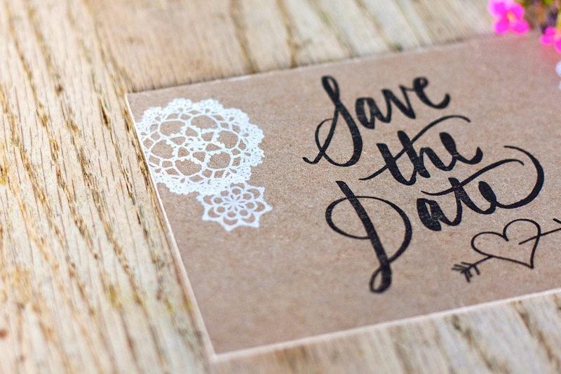 """""""Save the date"""", una tendencia que avanza en los casamientos"""