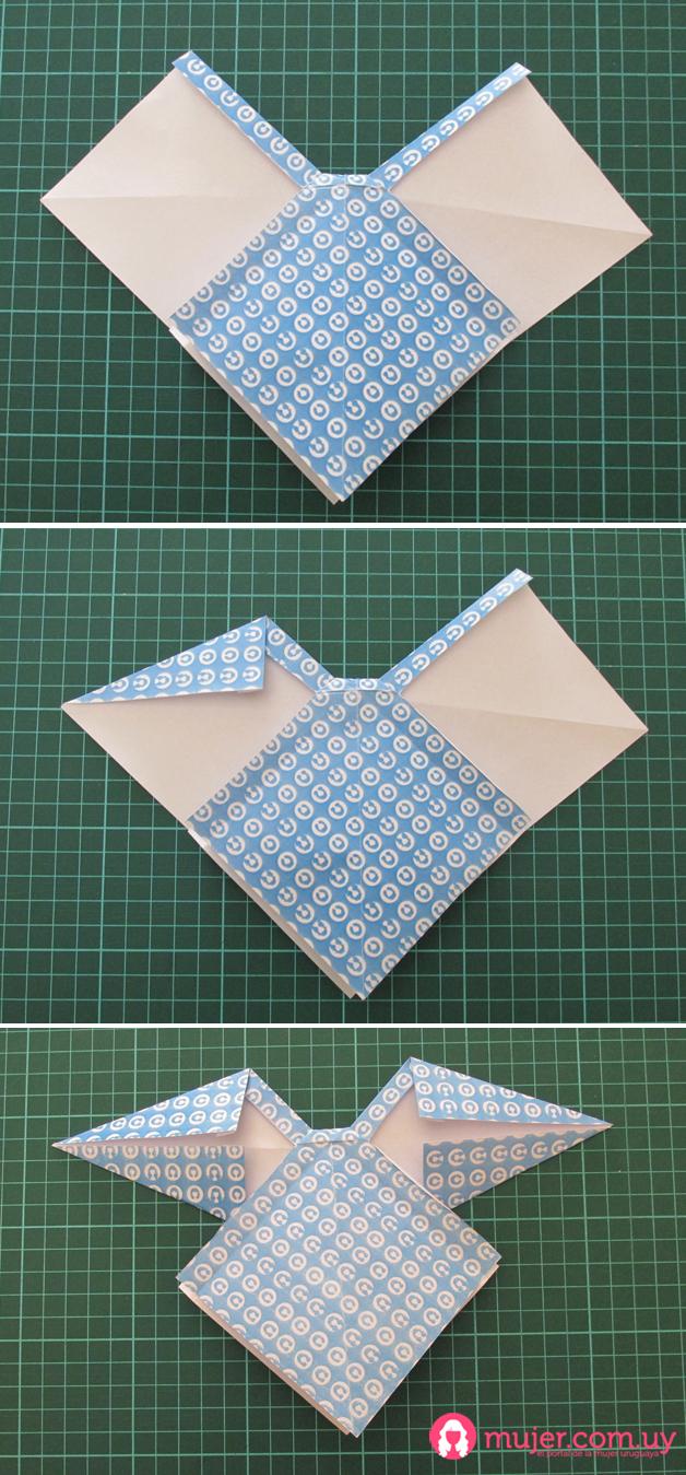 Origami: Moña (4) | Mujer.com.uy