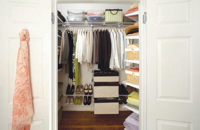 8 tips para organizar tu armario