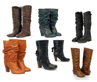 Moda: Botas y más botas..