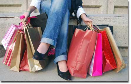 ¿Eres adicta a las compras?
