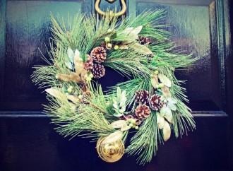 Originales coronas navideñas
