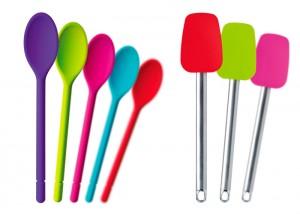 utensilios de cocina de silicona