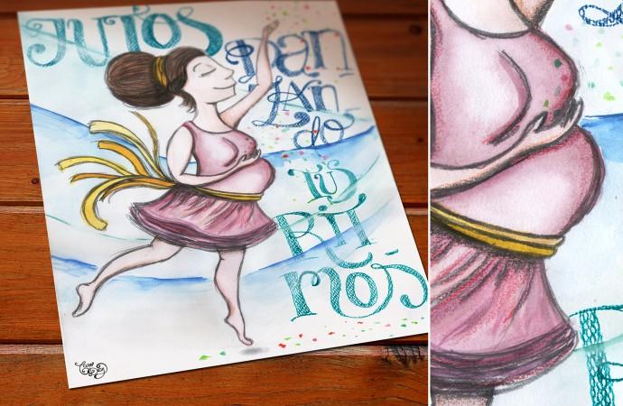 Caro Díaz: ilustrando desde el juego