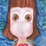 "Ilustracion inspirada en ""La nena no llora"""