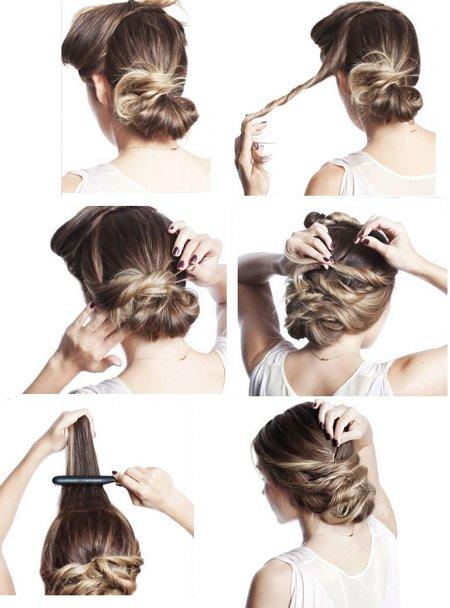 elegante peinado recogido | mujer.uy