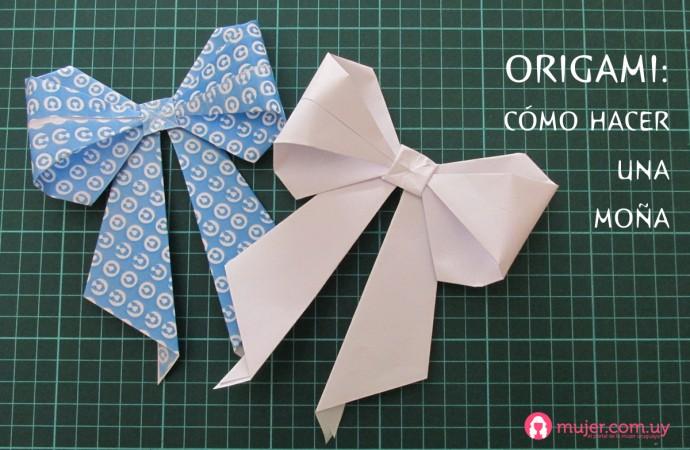 Origami: moña