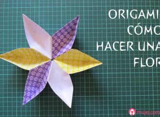 Origami: Flor