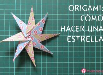 Origami: estrella
