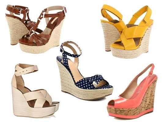 Moda 2013 sandalias con plataformas