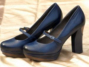 Zapatos Taco Cuadrado