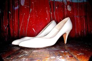 Zapatos taco medio