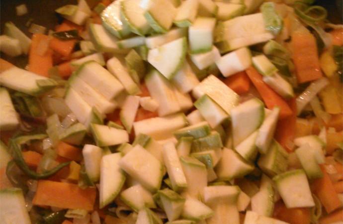 Zucchini | Verduras al wok